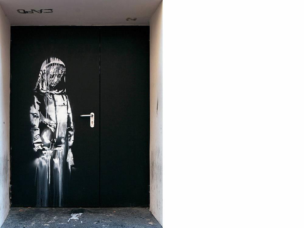 La jeune fille triste, Banksy