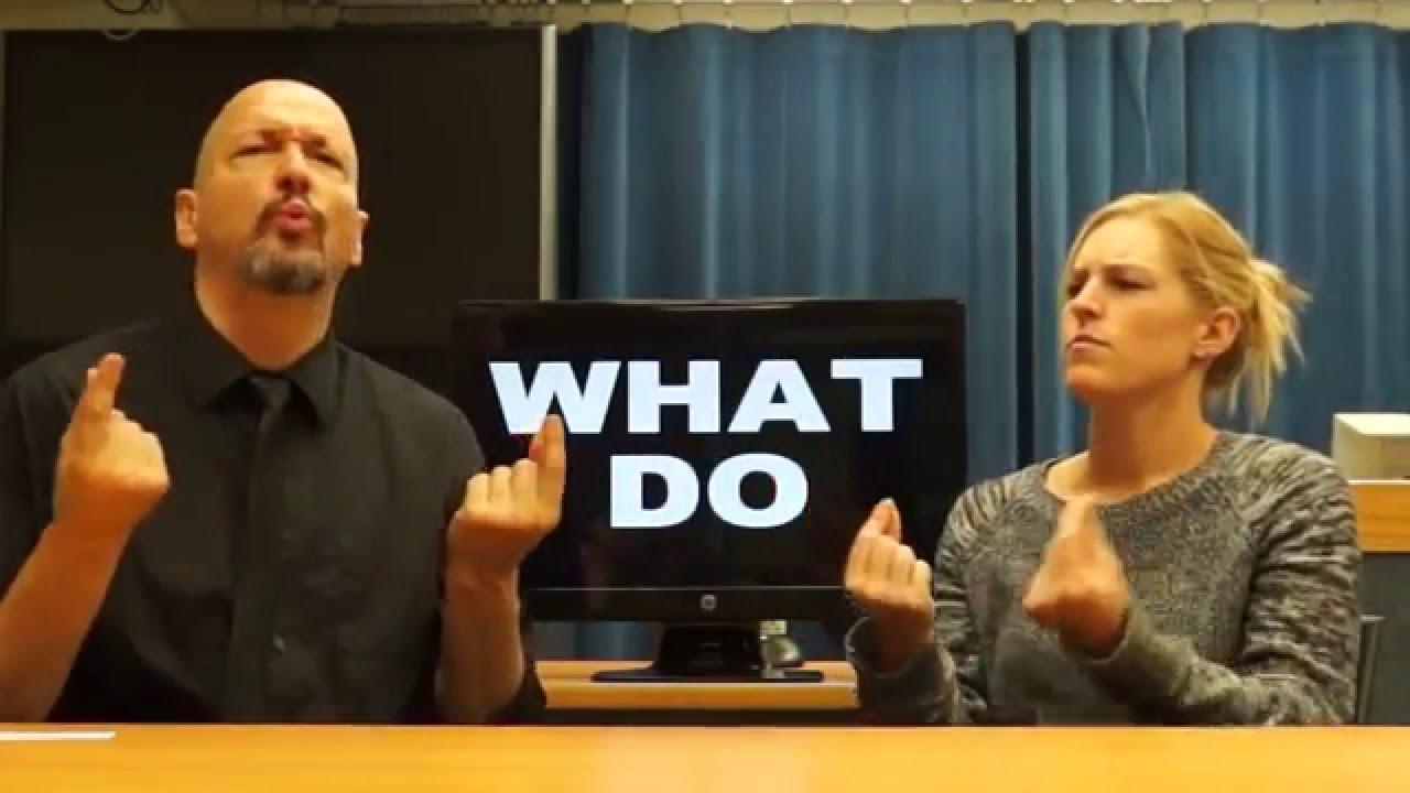 Le chansigne ou la musique en langue de signes
