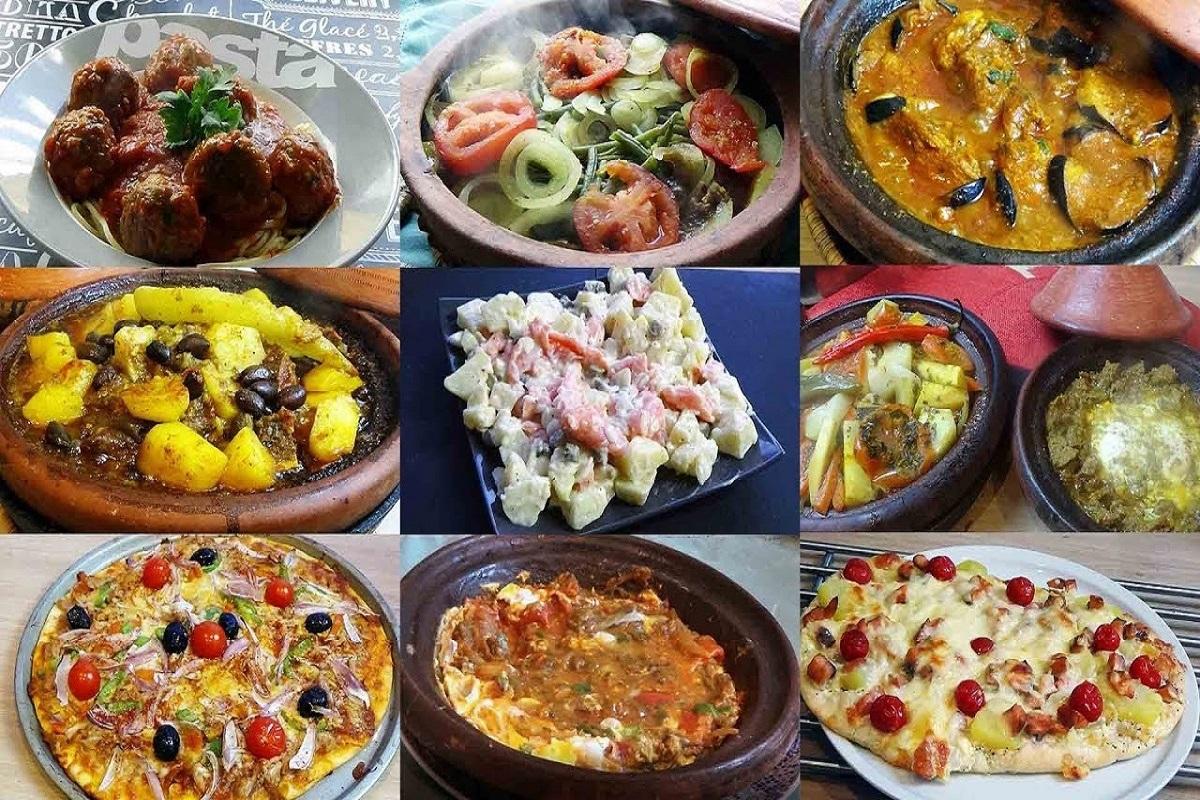 Le batch cooking : plusieurs plats  préparés pour la semaine à l'avance.