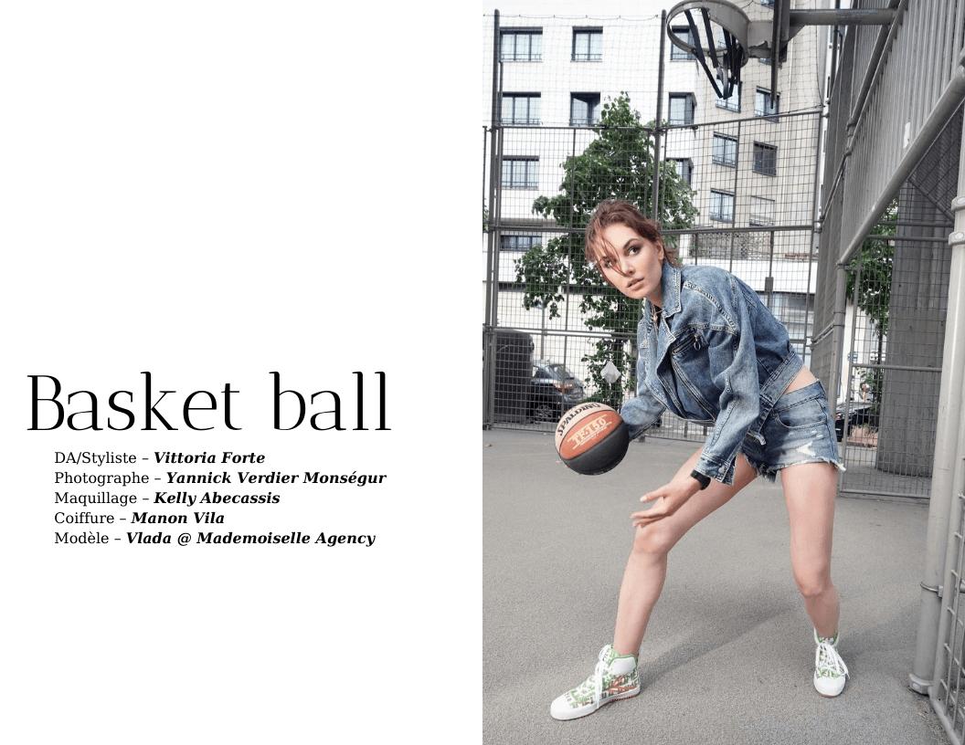 Éditorial BASKET-BALL par Vittoria Forte et Yannick Verdier Monségur