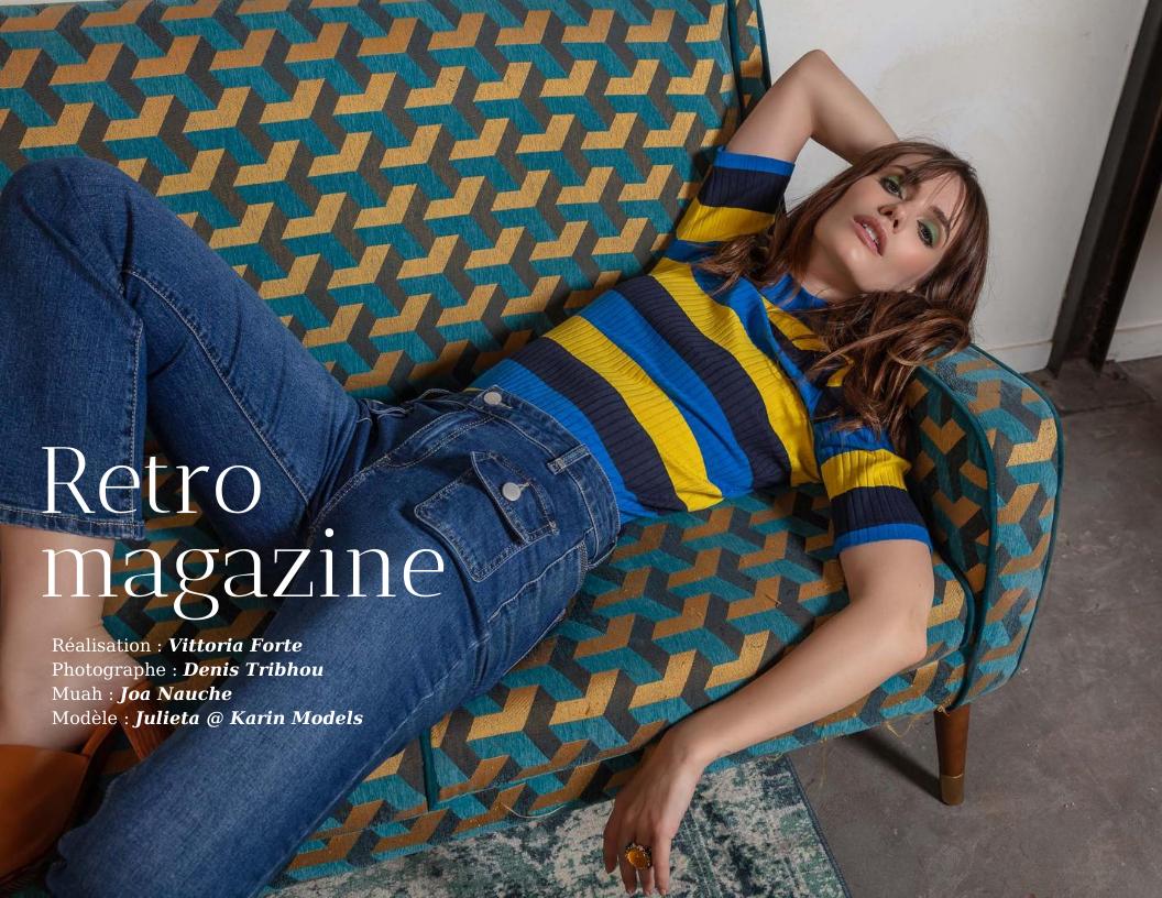 Rétro Magazine par Vittoria Forte et Denis Tribhou