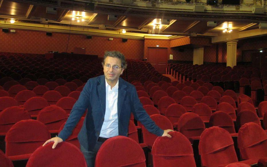 Laurent Bentata, directeur du théâtre Mogador et de Stage Entertainment France.