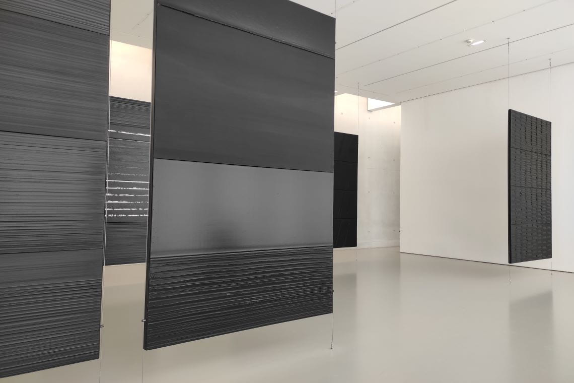 Pierre Soulages - polyptyques mégalithes