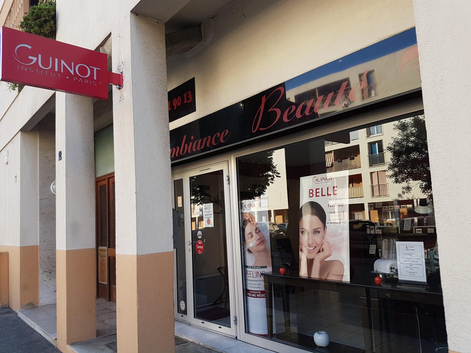 Institut de beauté Guinot - Ambiance beauté à Marseille.
