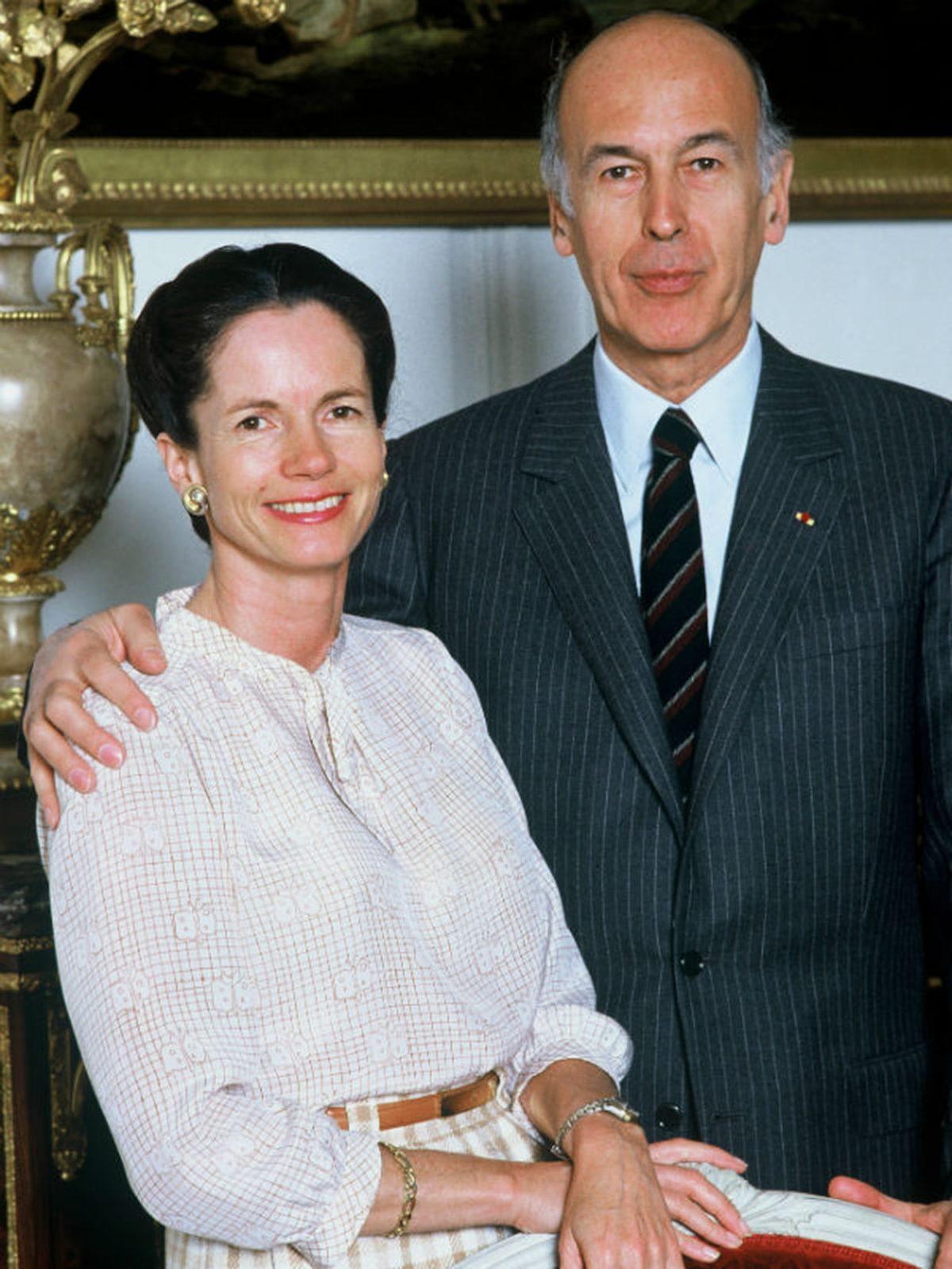 Anne-Aymone  et Valéry Giscard d'Estaing.