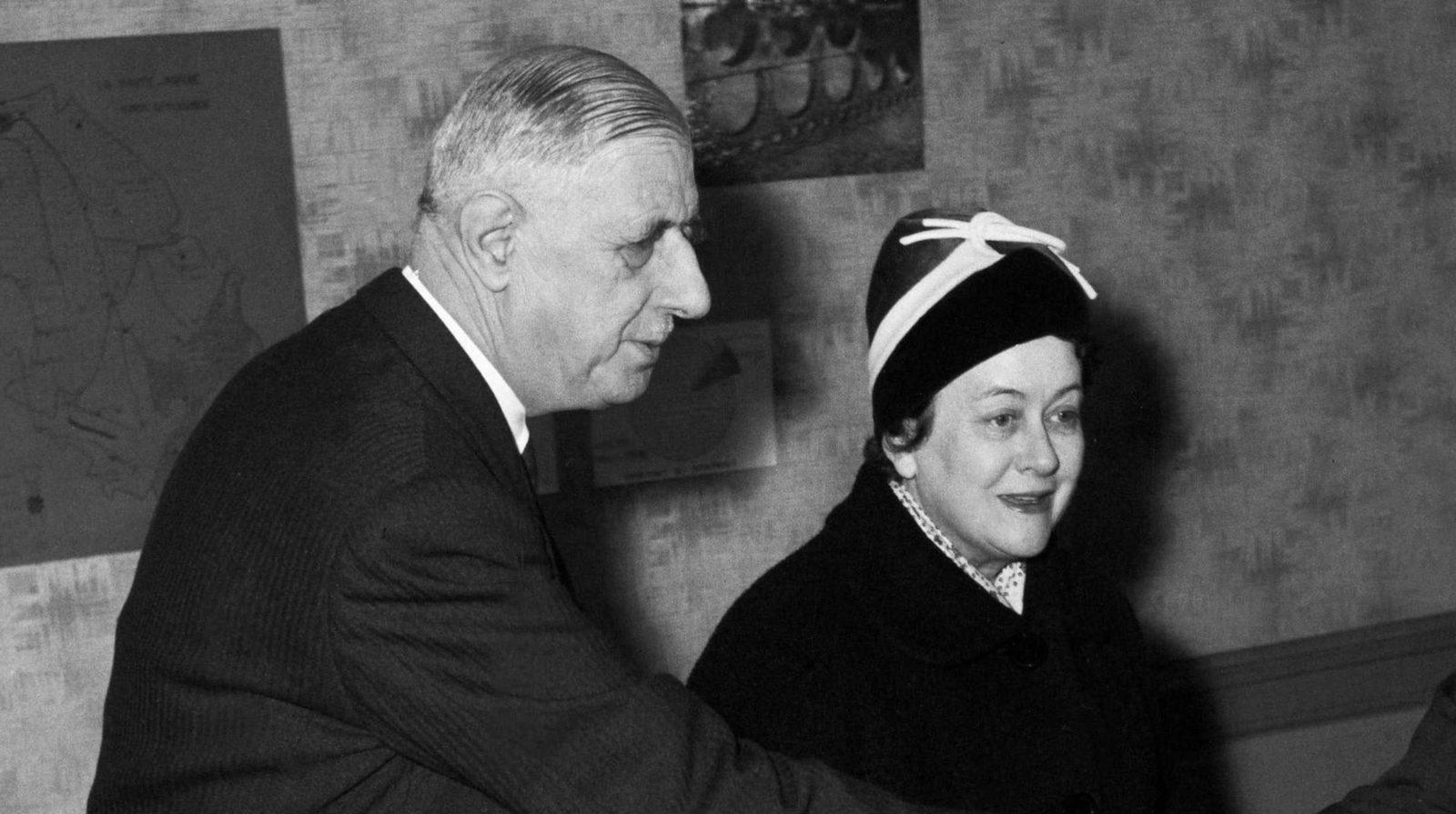 Charles et Yvonne de Gaulle.