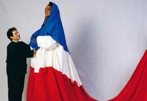 Azzedine Alaïa et Jessye Norman