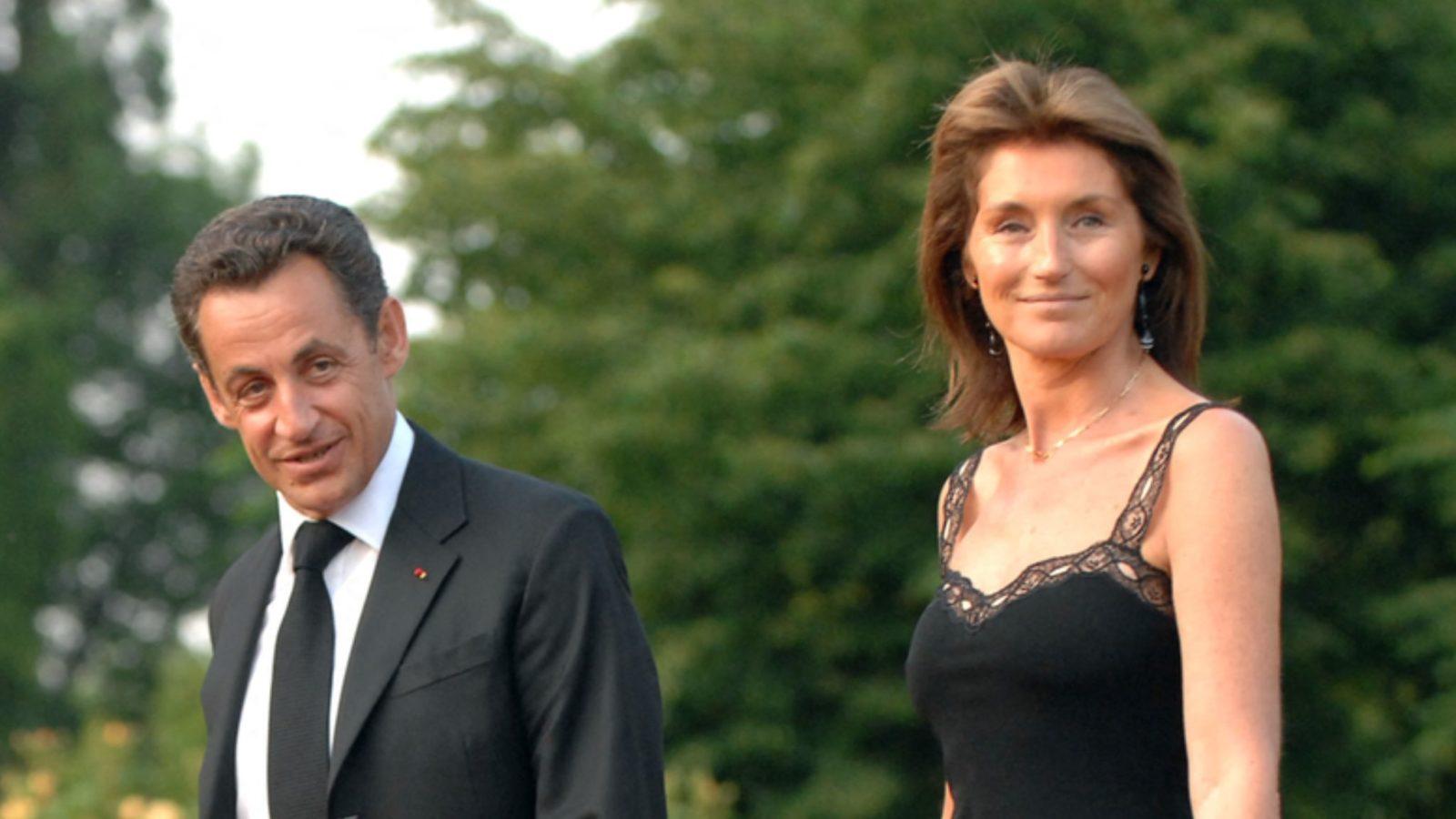 Nicolas Sarkozy et Cécilia Attias.