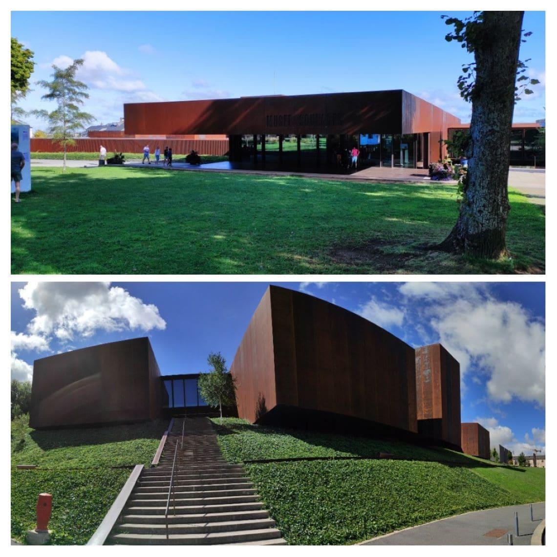 Soulages inattendu au musée de Rodez - vues du Musée Soulages