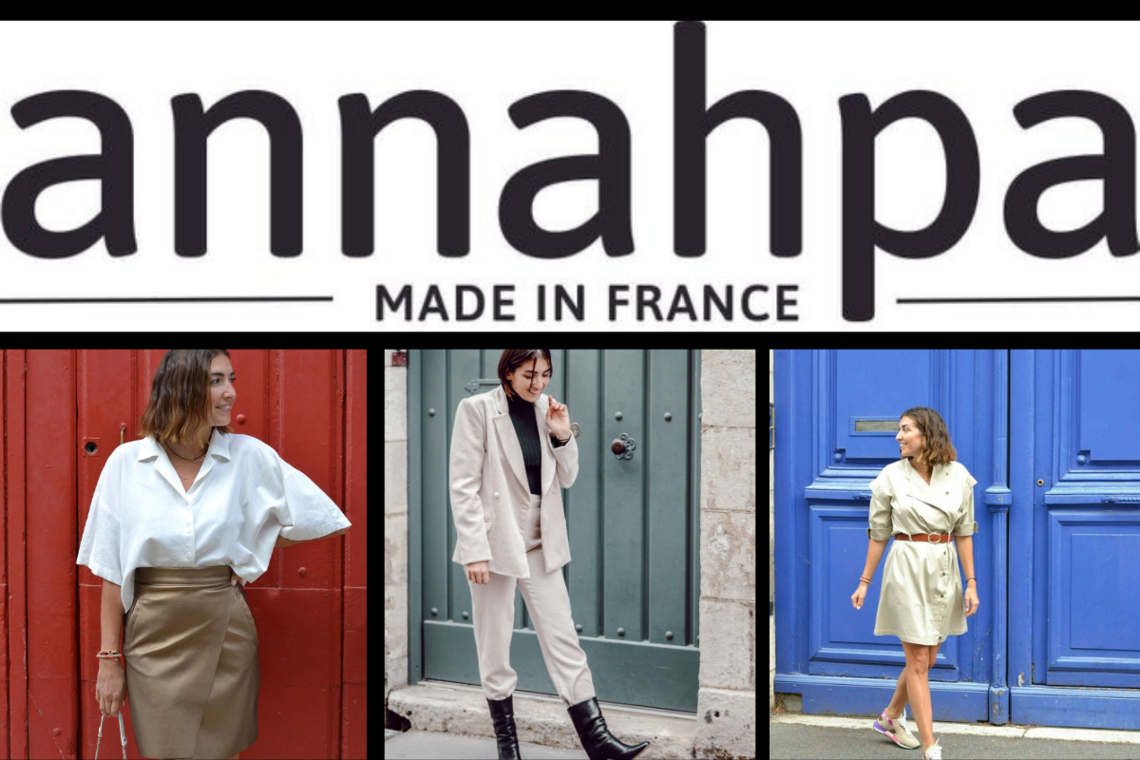 Annahpa, le prêt à porter féminin made in France