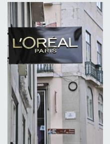 La marque L'Oréal Paris.