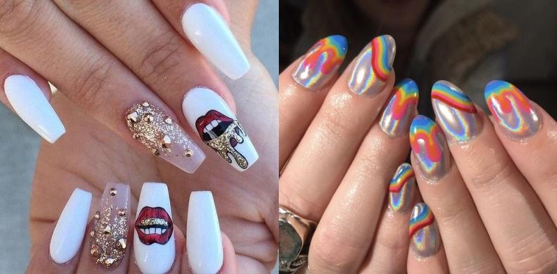 Illustration du Nail Art : une tendance incontournable dans le monde de la manucure.