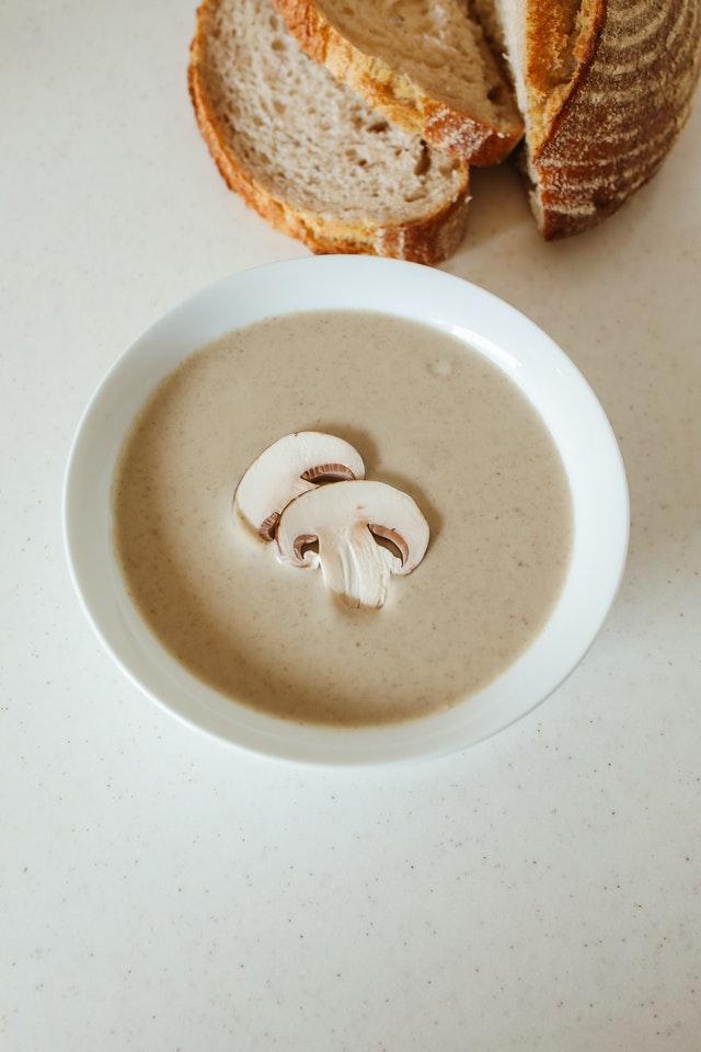Soupe aux champignons Source : Anna Pyshniuk @ Pexels