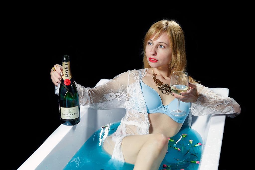 N'ayez crainte Juliette, il nous reste du bon champagne