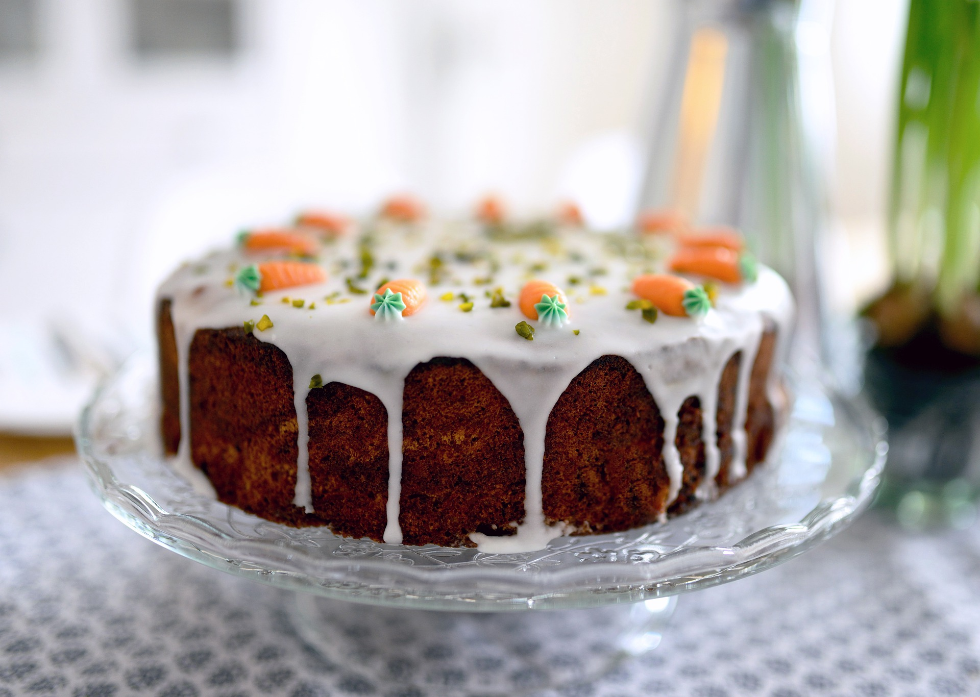 la recette du carrot cake, un gâteau équilibré