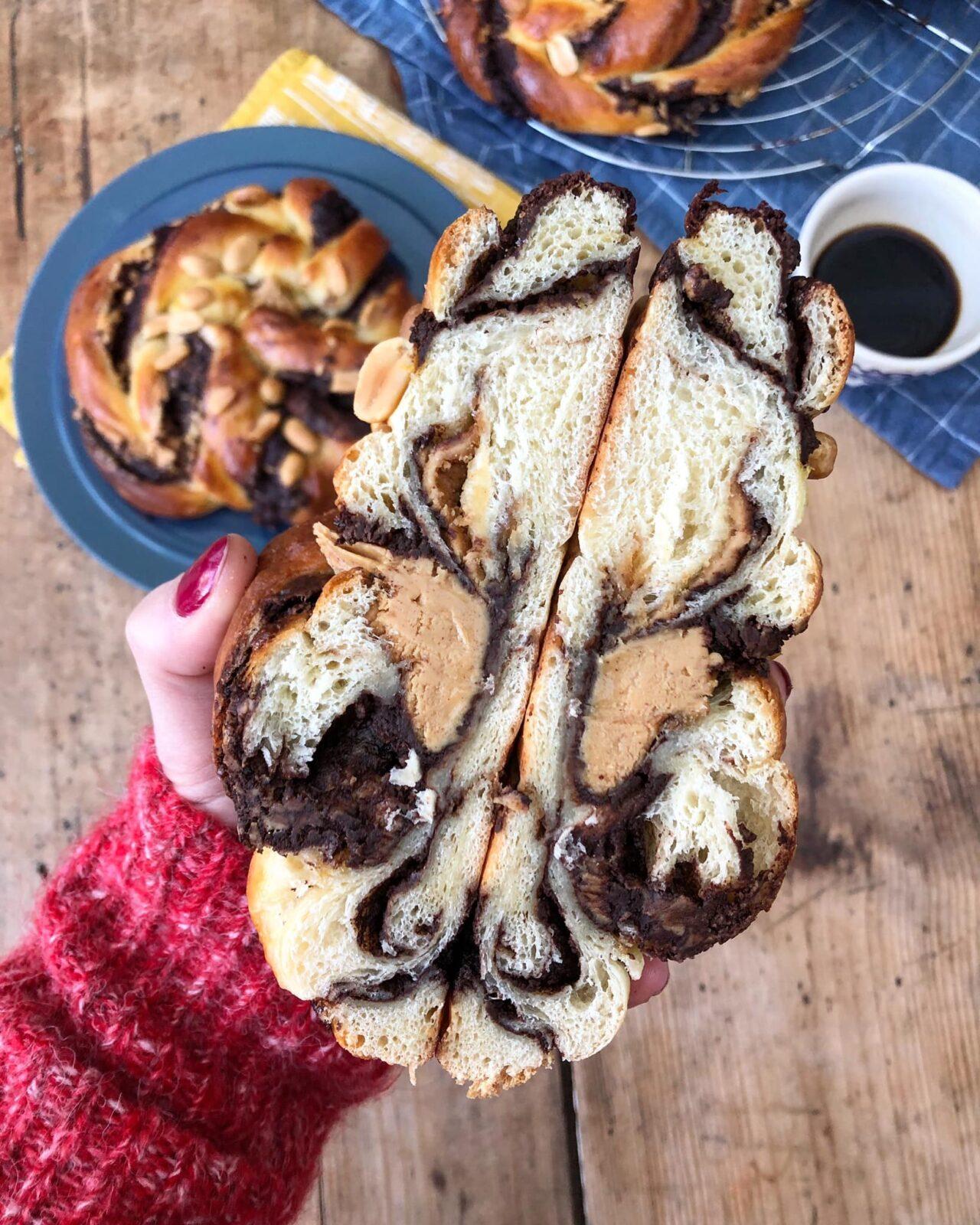 Le gâtal : une des spécialités du salon de thé L'impertinente.