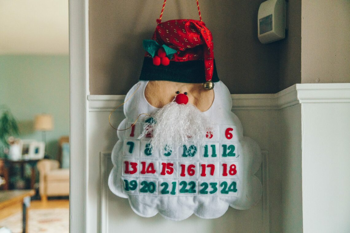 Calendrier de l'avent version DIY