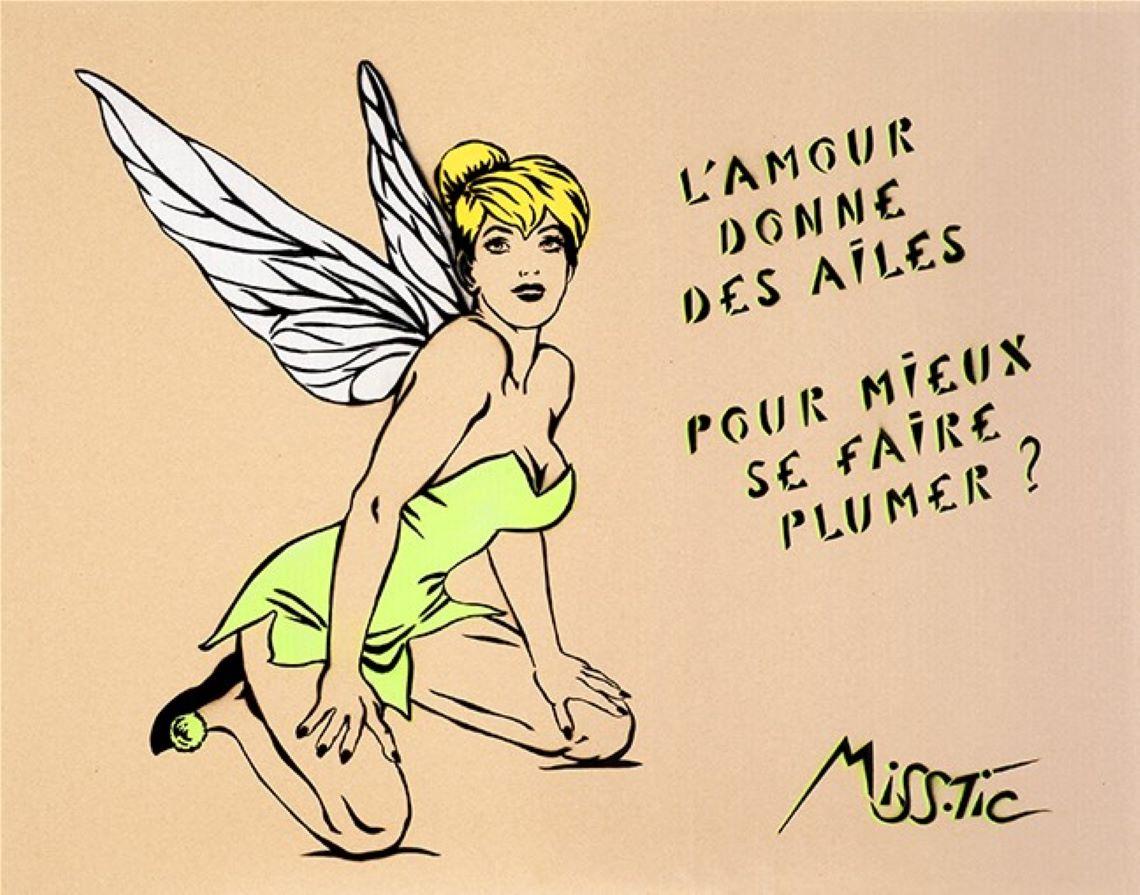 Miss Tic, image et verbe de l'art urbain parisien