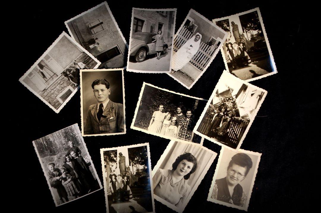 photos représentant les souvenirs du passée