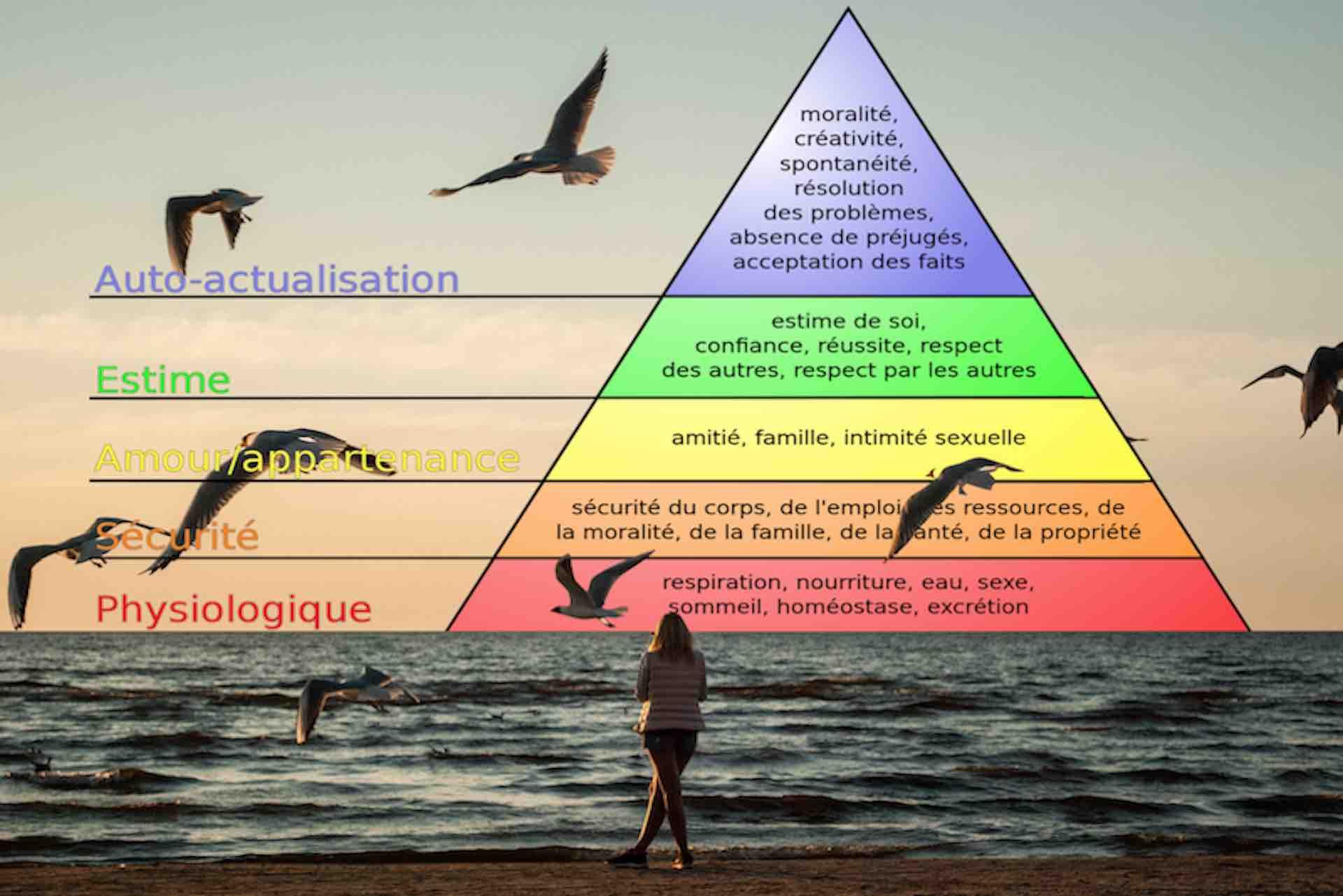 Face à la pyramide de Maslow