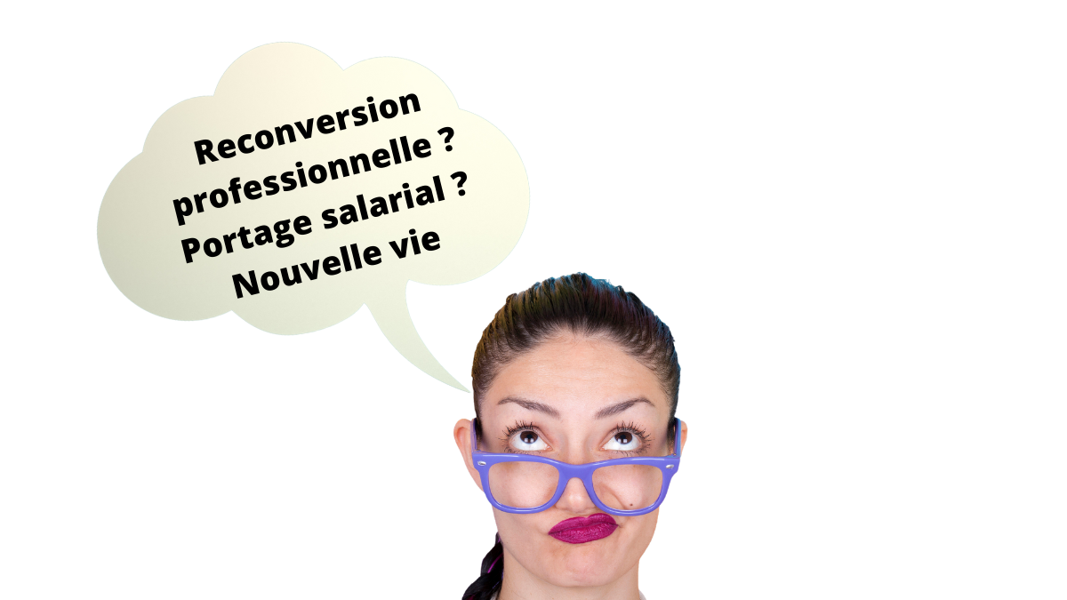 Reconversion professionnelle : la solution du portage salarial