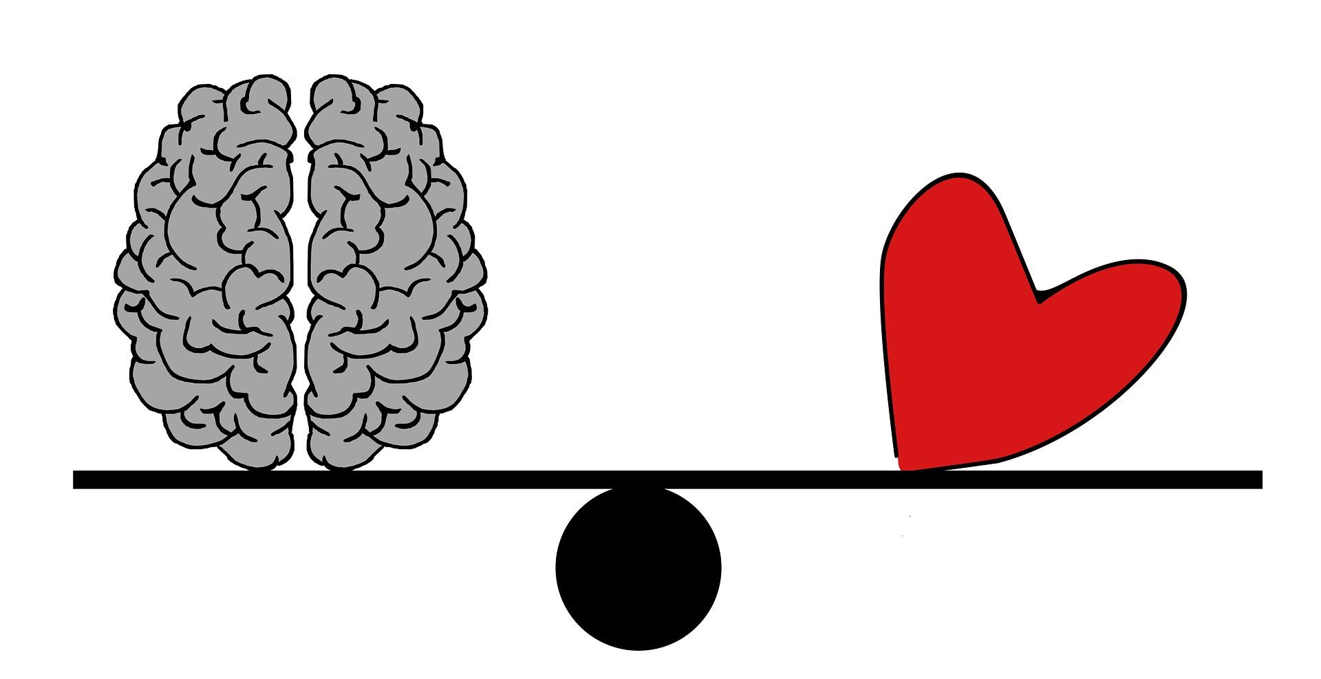 l'équilibre entre le coeur et la raison