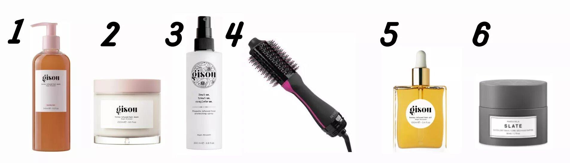 routine soin pour les cheveux