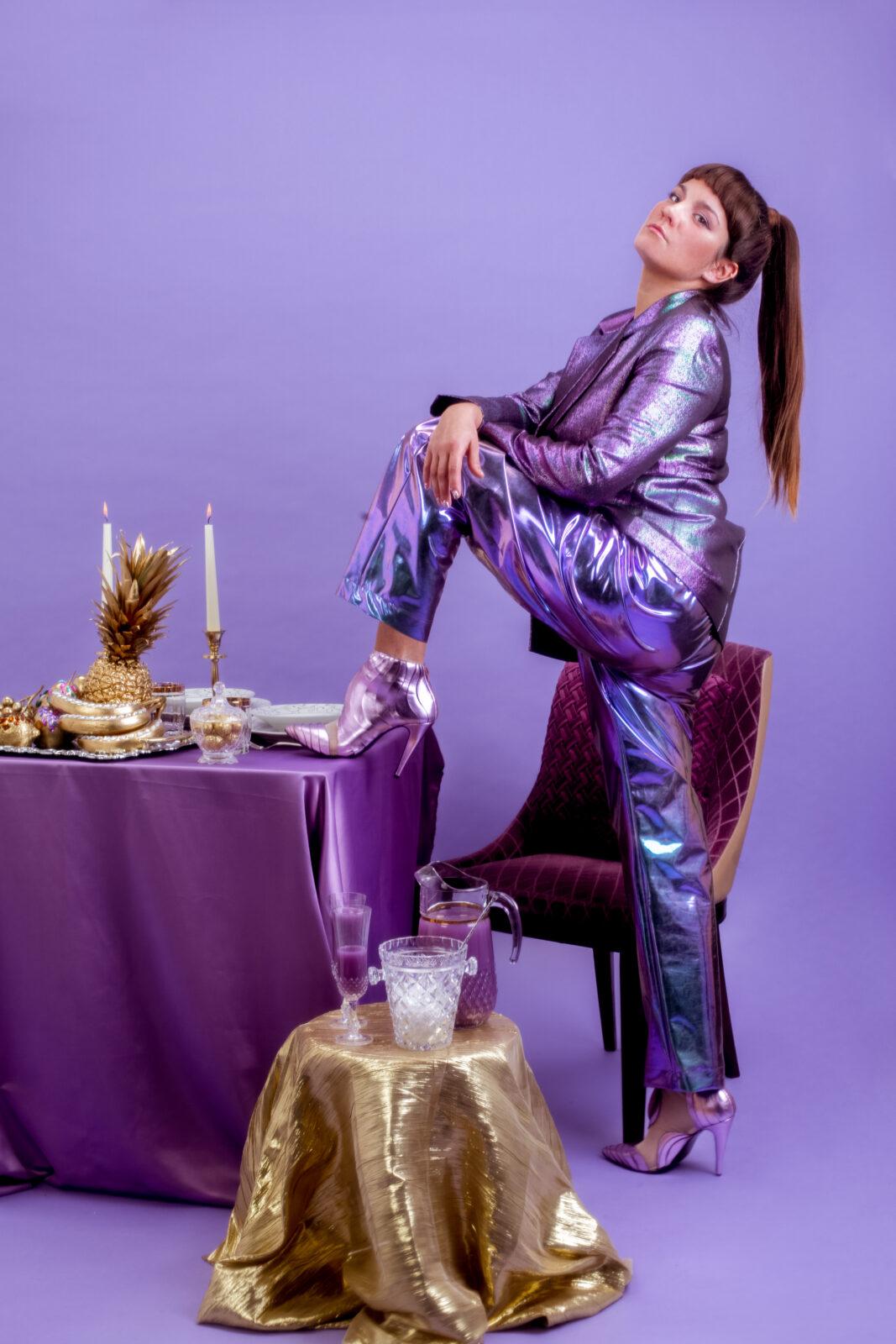 Photo de presse Sôra décors violet