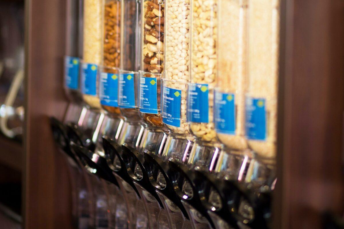 Obligation de 20% de surfaces de vente en vrac dans les supermarchés