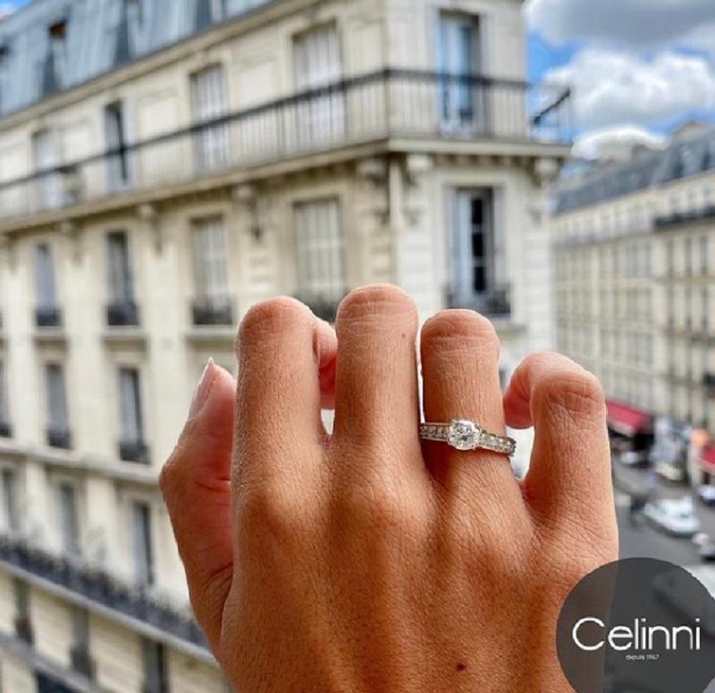 Bague en diamant Celinni
