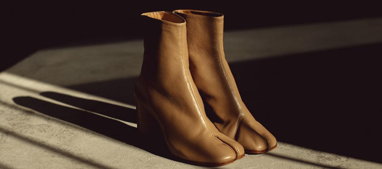 Bottines Tabi Margiela - Les souliers de luxe emblématiques