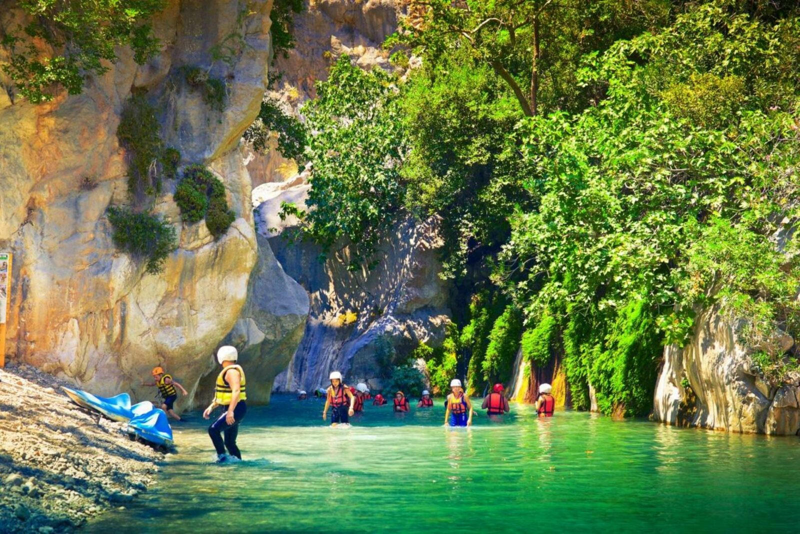 Canyoning en famille : conseils