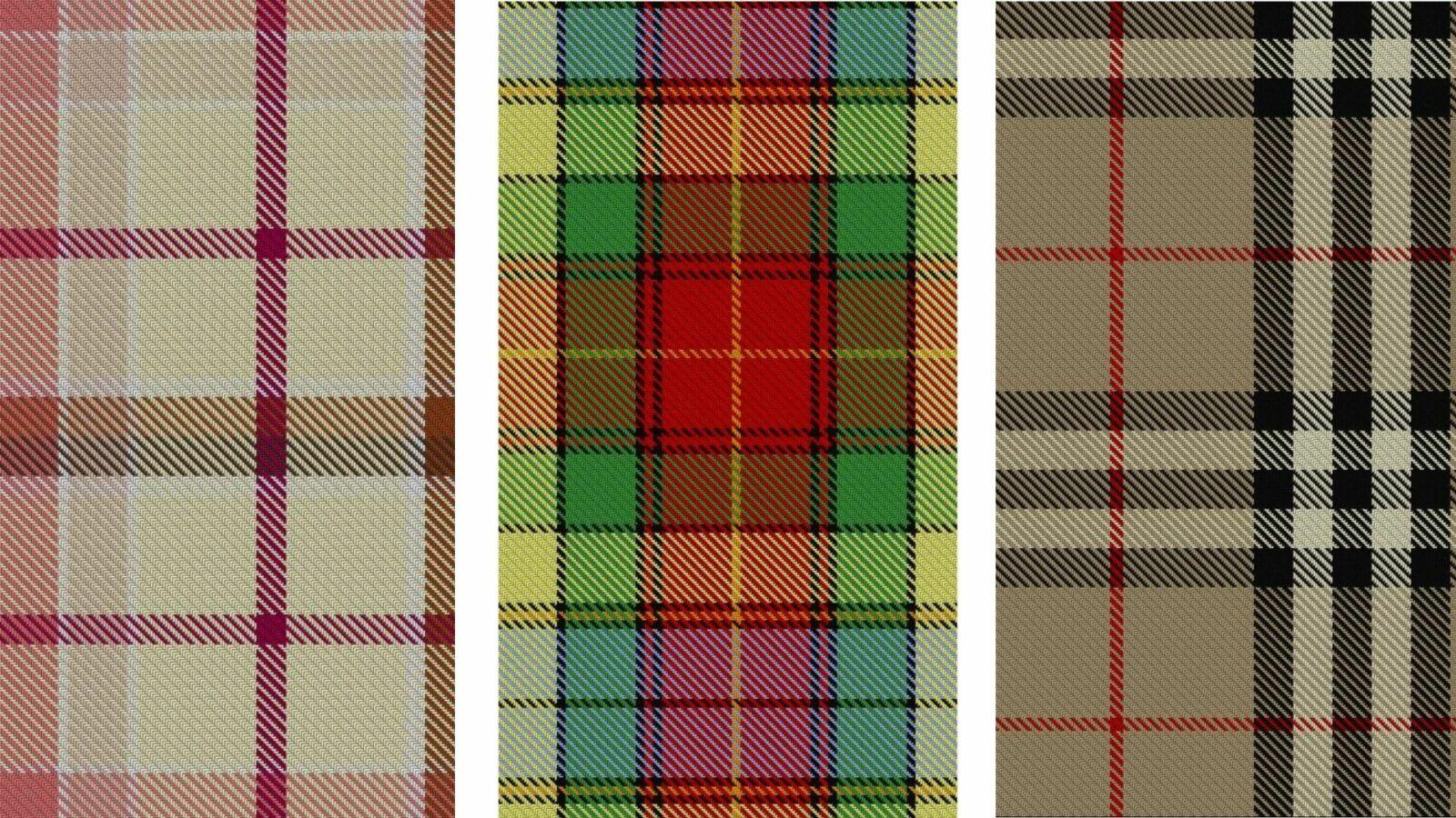 Design de tartans - Mode - Ô Magazine