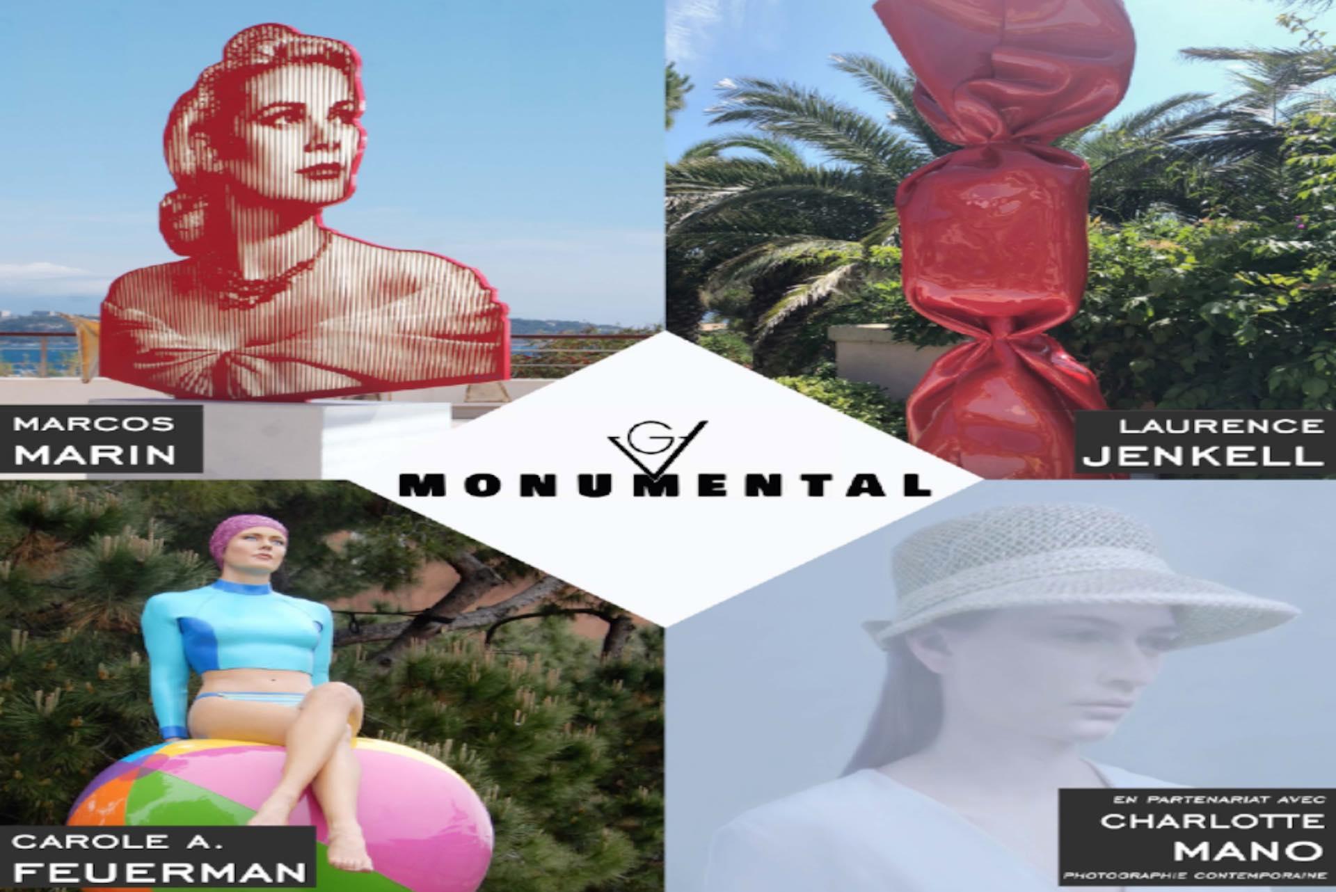 GV Monumental, une ballade d'art avenue George V