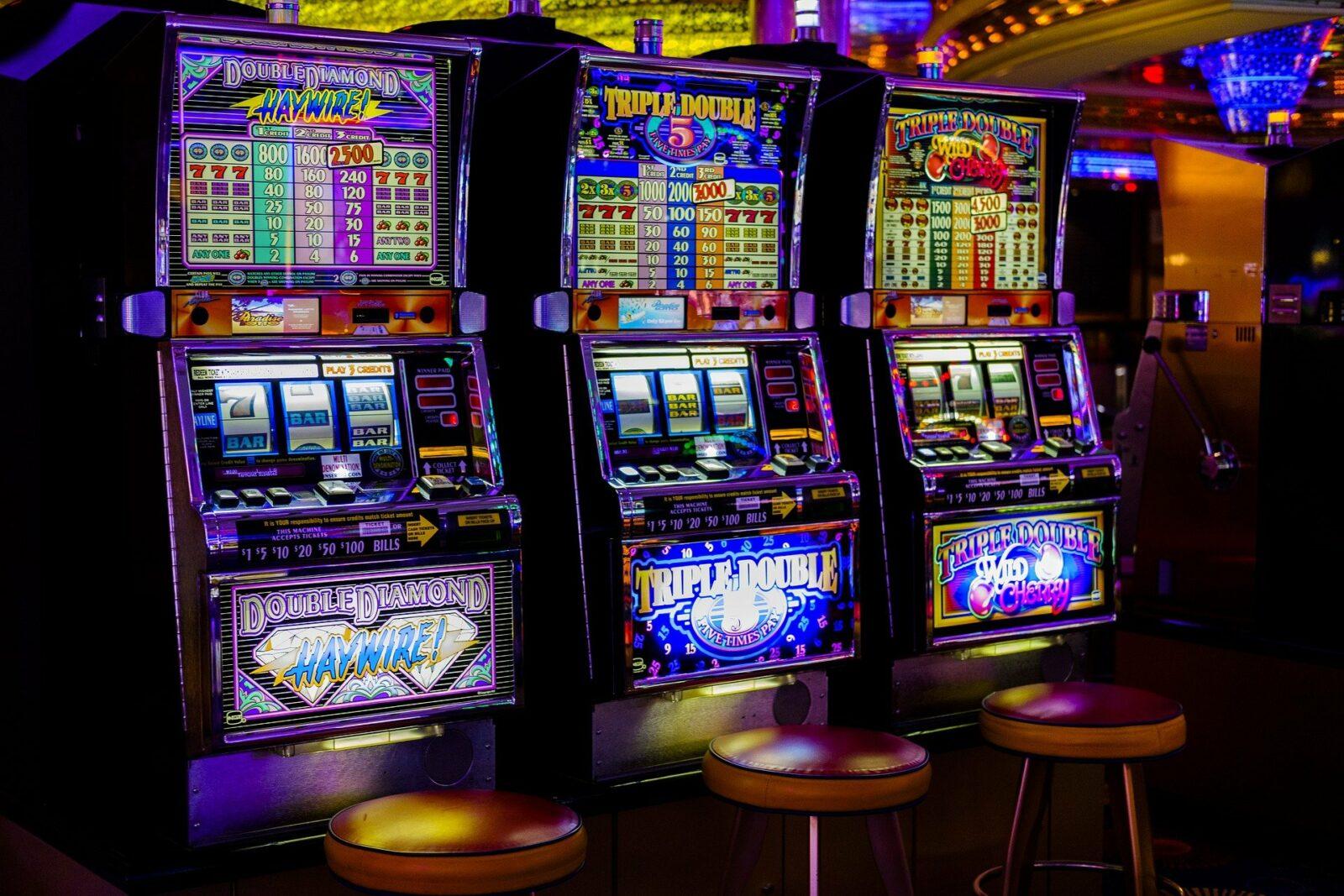 casino bandit manchot