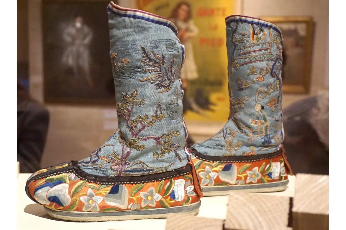 Chaussures chinoises au MAD de Paris