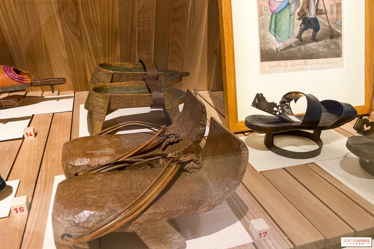 Expo Marche et Démarche : chaussures orientales
