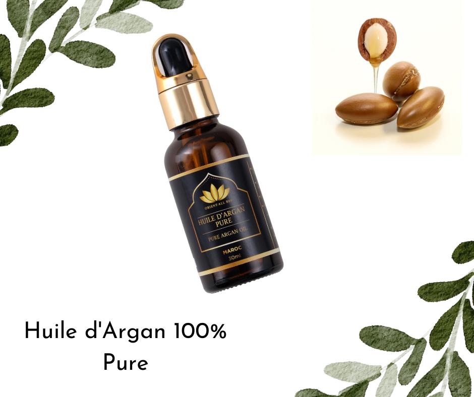 L'huile d'Argan, rituel de jouvence des reines Néfertiti et Cléopâtre est le must-have hydratant et nourrissant pour les cheveux.