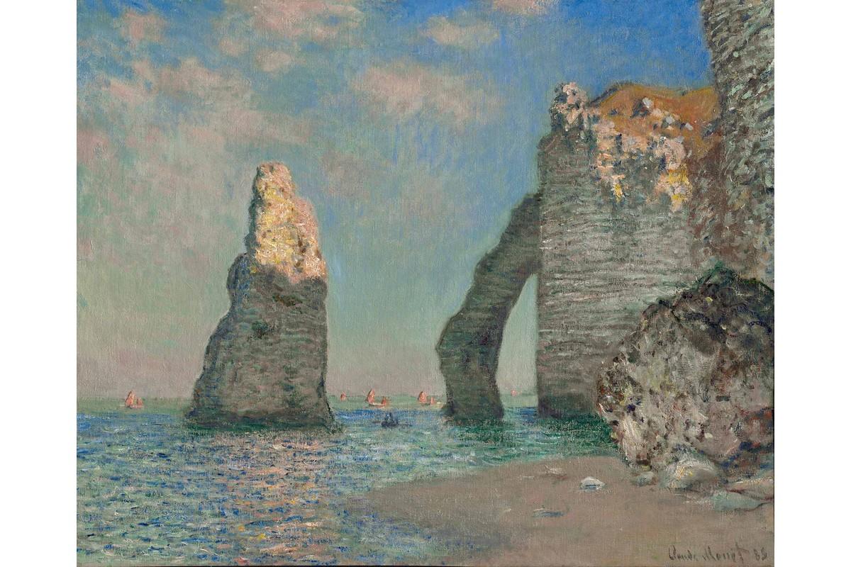Claude Monet : Etretat © La scogliera