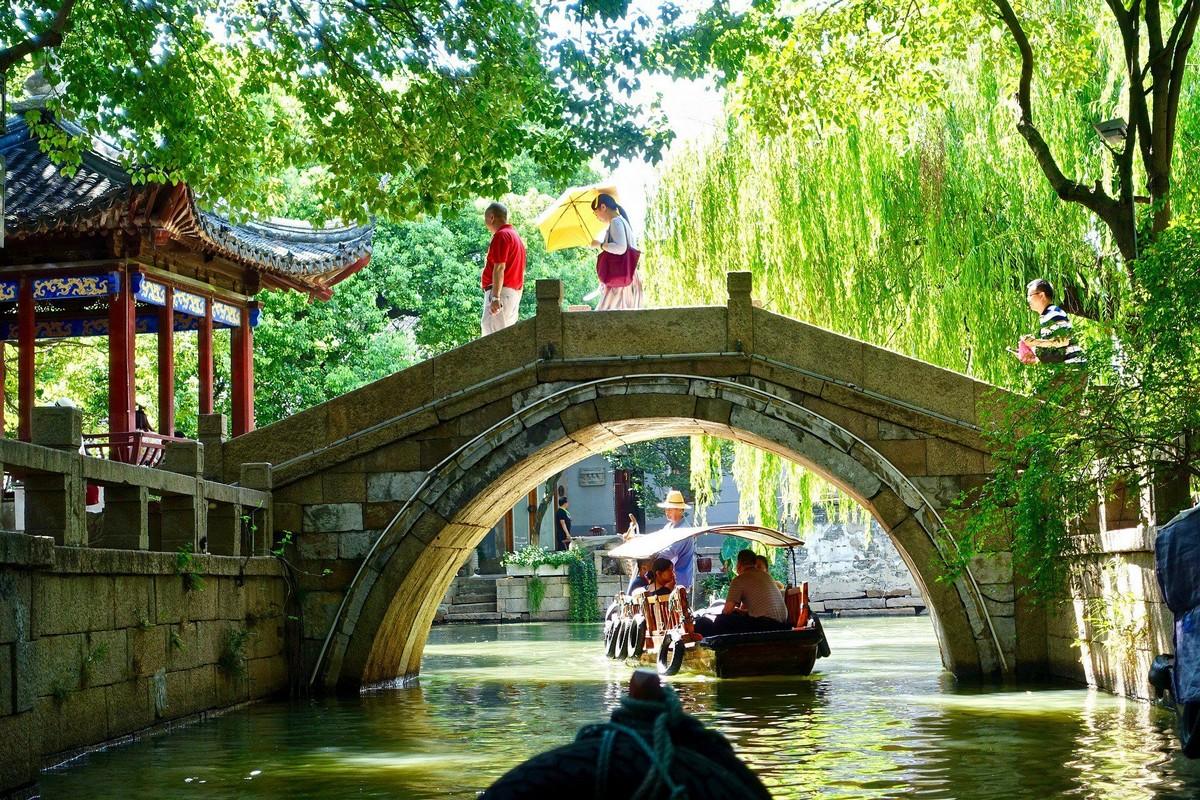 Les ponts en pierre de Suzhou (Chine)