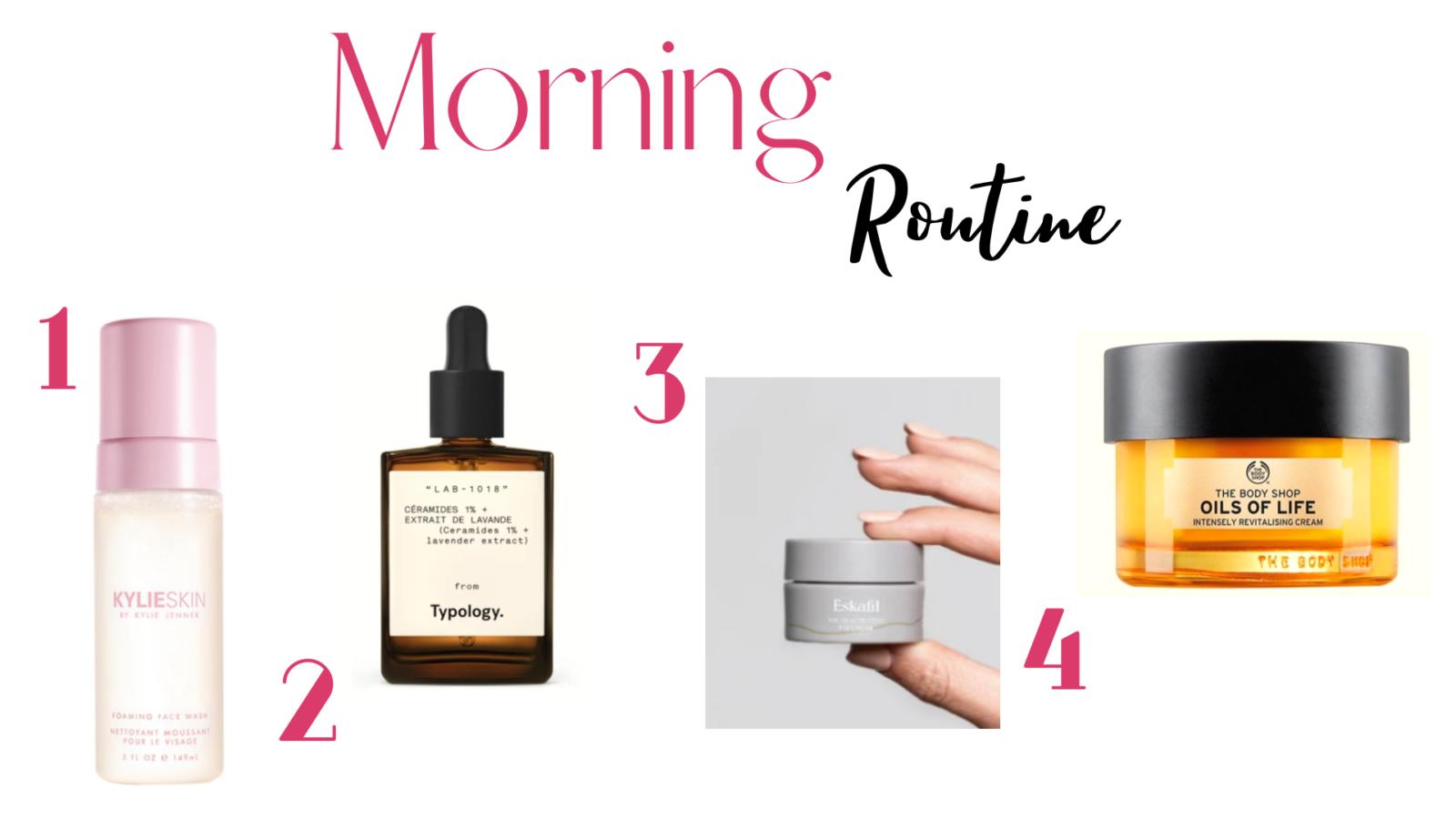 Morning Routine printemps : rituel soin du visage pour le matin