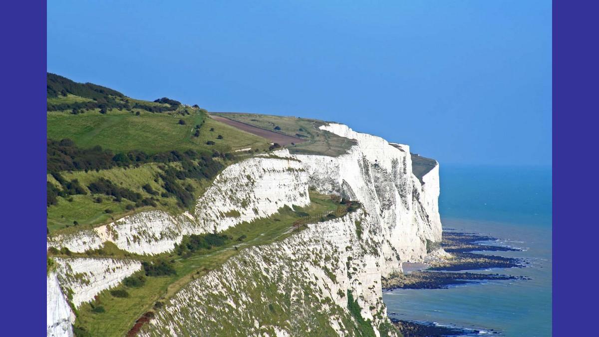 Angleterre : les falaises de Dover