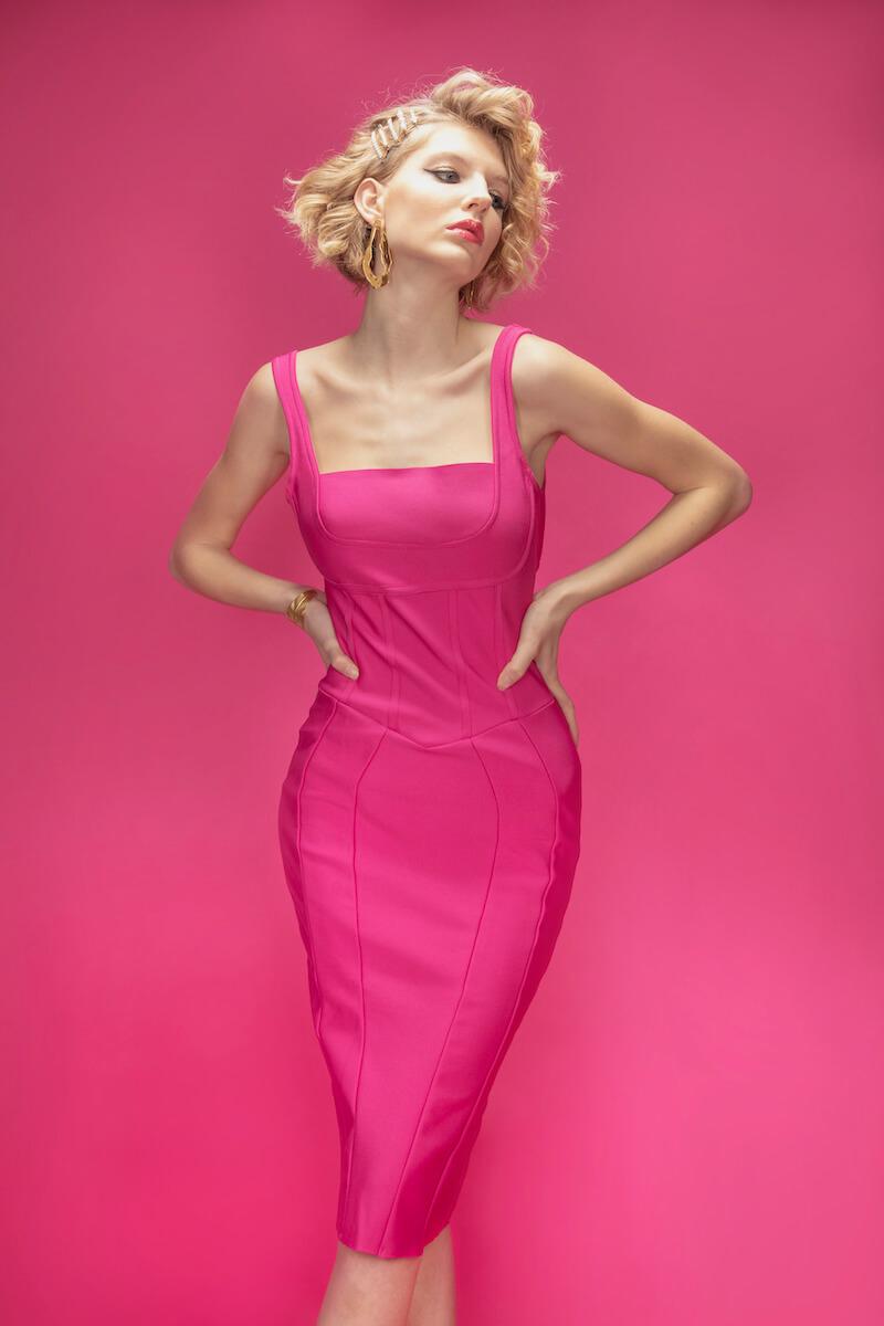 """Éditorial """"Pink Lady"""" par Ingrid Masse et Anna Mirlas pour Ô Magazine"""