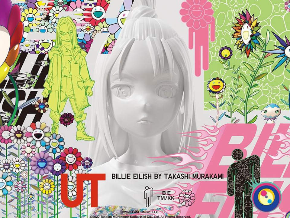 Uniqlo : Billie Eilish x Takashi Murakami - Ô Magazine