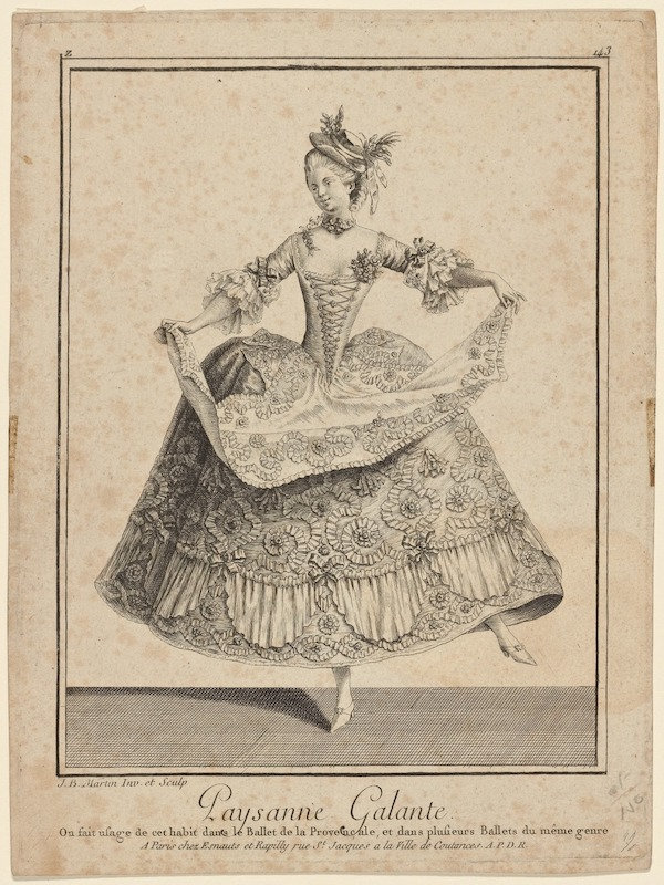 Danseuse du XVIIIème