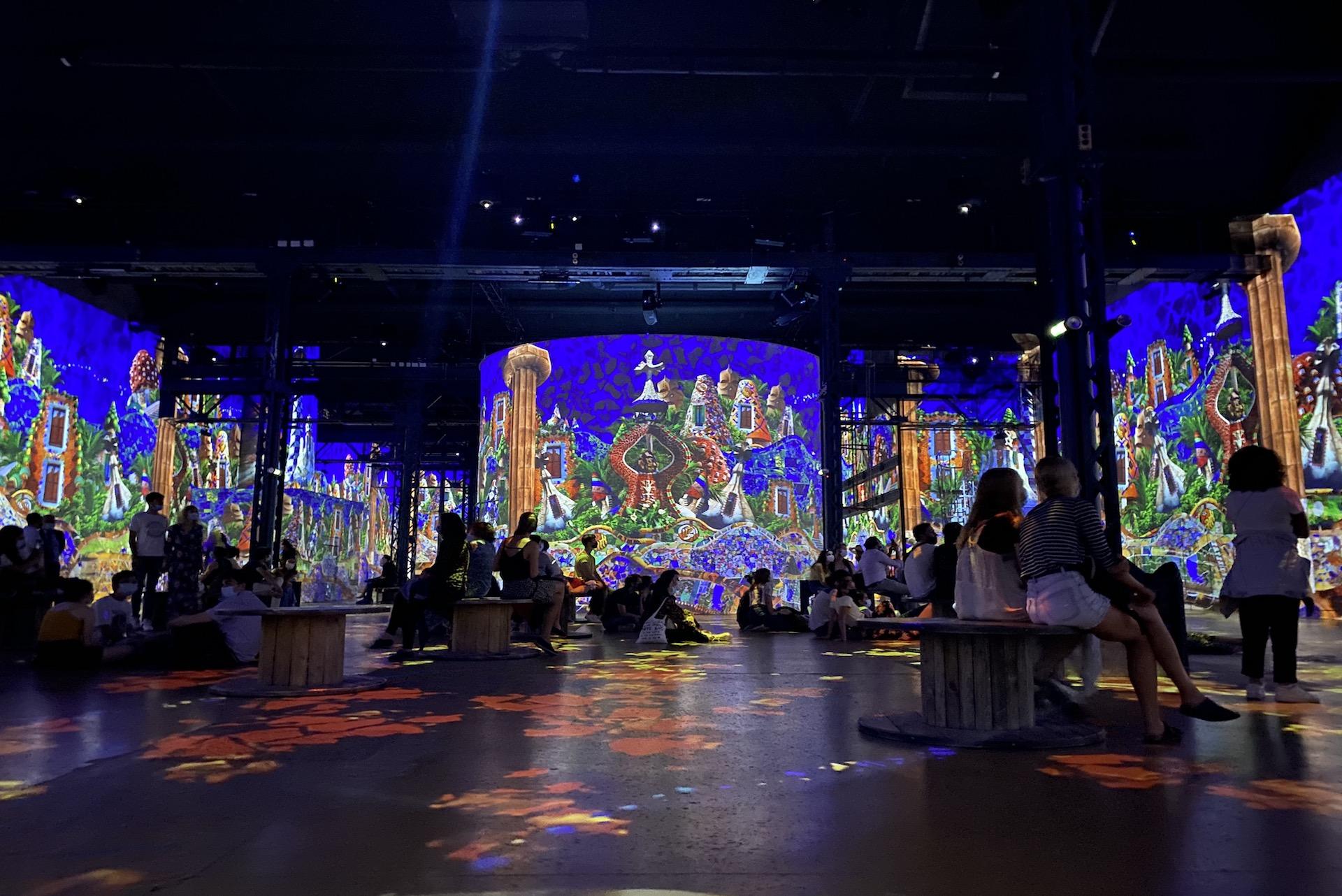 Immersion dans l'exposition Dalì, l'énigme sans fin et Gaudì, architecte de l'imaginaire