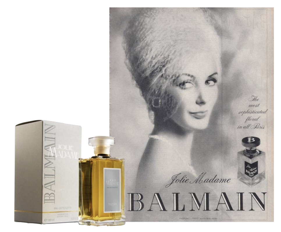 Le parfum Jolie Madame