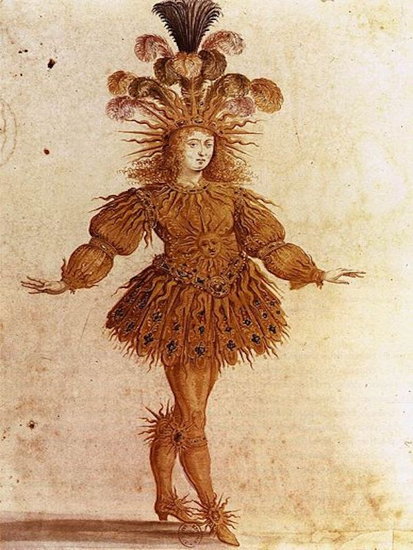 Louis XIV danse