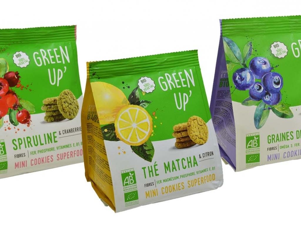 Green Up' et ses cookies 100 % biologiques - Ô Magazine