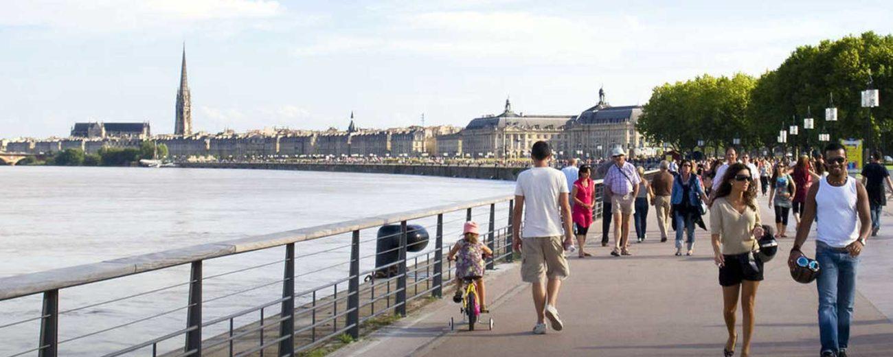 Bordeaux : Quais Rive Gauche